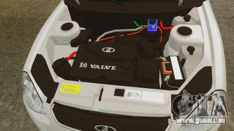ВАЗ-2172 INSTALLIERT Vor für GTA 4 Innenansicht