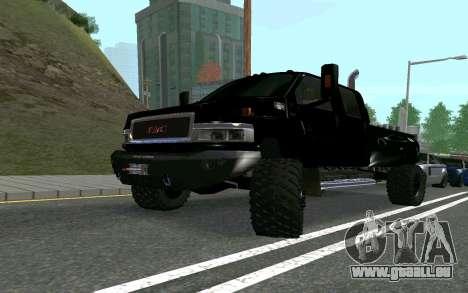 GMC Topkick pour GTA San Andreas