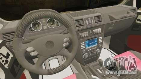 Mercedes-Benz G63 AMG 6x6 für GTA 4 Innenansicht