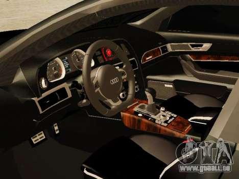 Audi RS6 pour GTA San Andreas vue de droite