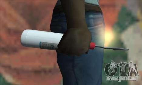 Une bouteille de White-Spirit pour GTA San Andreas troisième écran