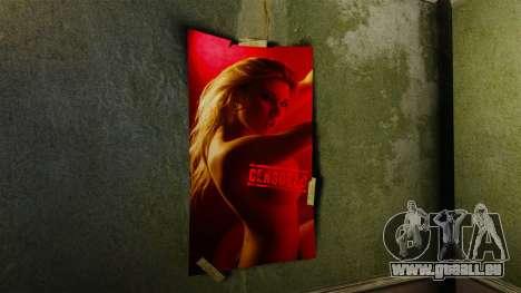 Neue Plakate in der Wohnung des Romans für GTA 4 Sekunden Bildschirm