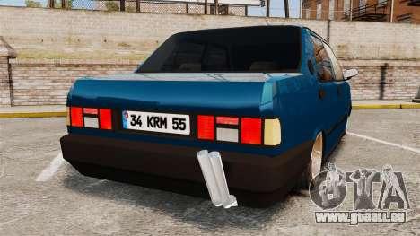 Tofas Sahin v2.0 pour GTA 4 Vue arrière de la gauche