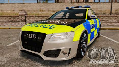 Audi S4 2013 Metropolitan Police [ELS] pour GTA 4