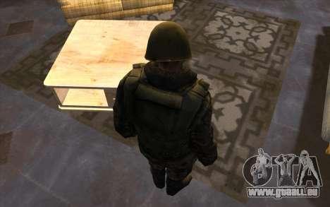 Les soldats de la SA et le Mississippi de la gar pour GTA San Andreas cinquième écran