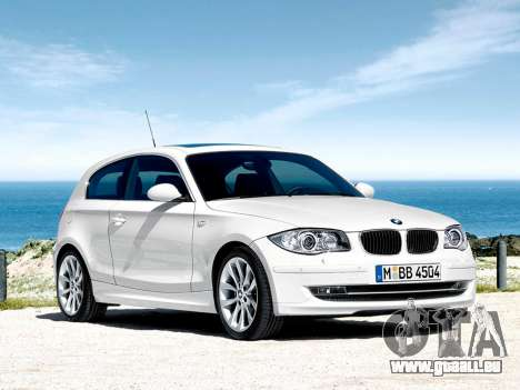 Les écrans de démarrage BMW 116i pour GTA 4 septième écran
