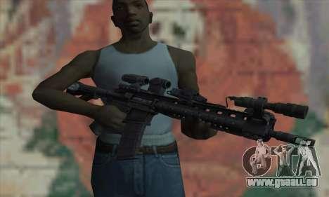 Warfighter-Larue OBR Medal Of Honor für GTA San Andreas dritten Screenshot