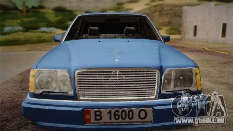 Mercedes-Benz E320 W124 für GTA San Andreas rechten Ansicht