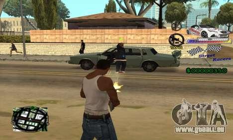 HUD Races für GTA San Andreas dritten Screenshot