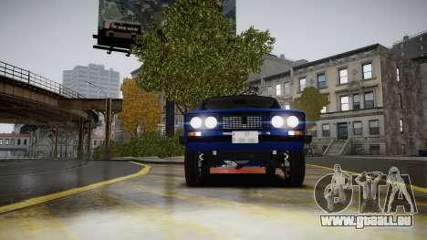 VAZ 2106 Baku für GTA 4 Rückansicht