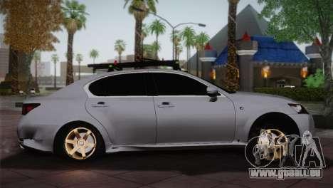 Lexus GS250 F für GTA San Andreas linke Ansicht