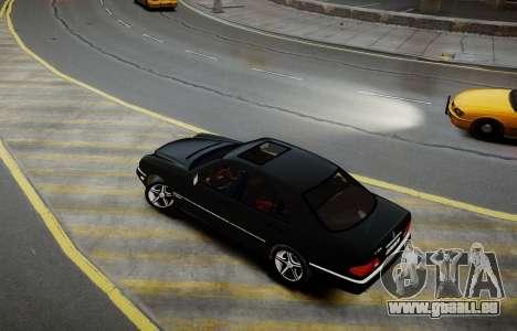 Mercedes-Benz E280 Beta pour GTA 4 Vue arrière de la gauche
