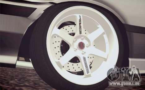 BMW M3 E36 Angle Killer pour GTA San Andreas sur la vue arrière gauche