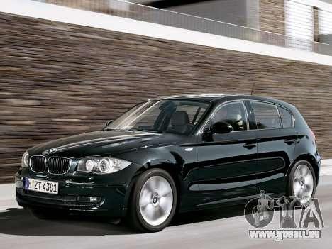 Les écrans de démarrage BMW 116i pour GTA 4 neuvième écran