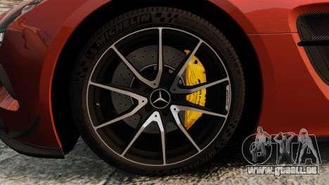 Mercedes-Benz SLS 2014 AMG Black Series pour GTA 4 Vue arrière