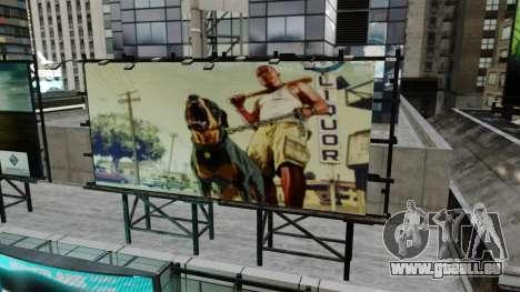Panneaux d'affichage de GTA 5 pour GTA 4 troisième écran