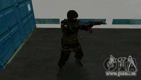 Kämpfer Alfa Antiterror für GTA Vice City fünften Screenshot
