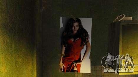 De nouvelles affiches dans l'appartement du Roma pour GTA 4 quatrième écran