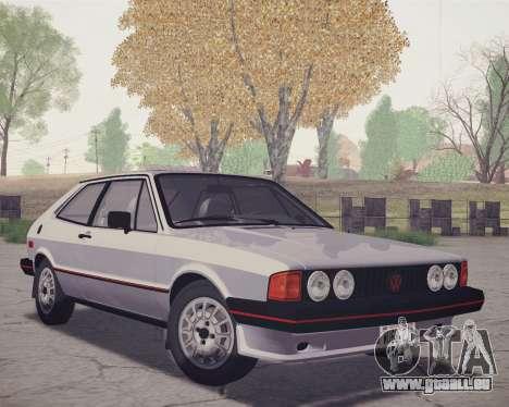 Volkswagen Scirocco S (Typ 53) 1981 HQLM pour GTA San Andreas