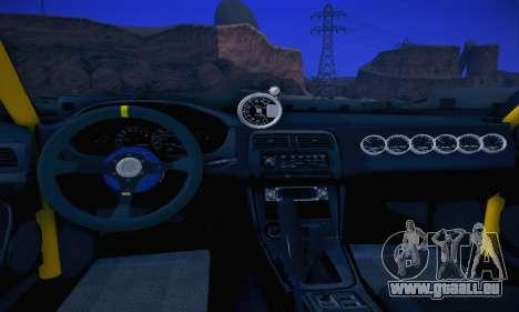Nissan Silvia S14 für GTA San Andreas Innenansicht