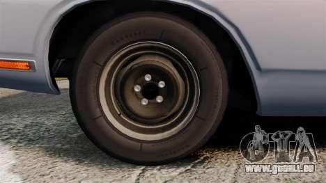 Dodge Polara 1971 für GTA 4 Rückansicht