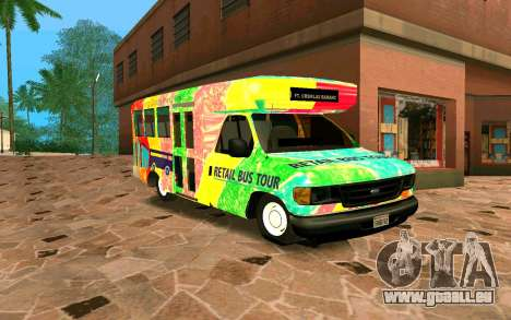 Ford E350 Shuttle Bus pour GTA San Andreas