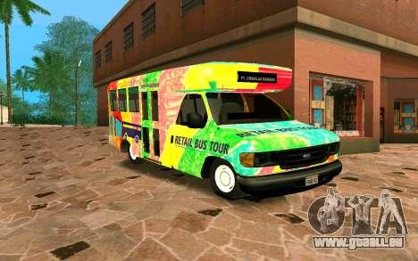 Ford E350 Shuttle Bus pour GTA San Andreas
