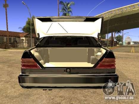 Mercedes-Benz 600SEL für GTA San Andreas zurück linke Ansicht