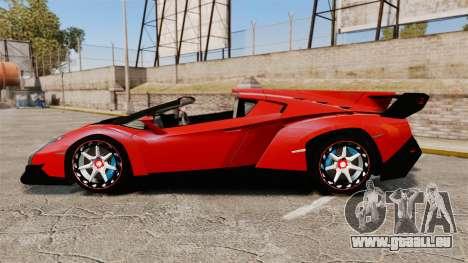Lamborghini Veneno Roadster LP750-4 2014 für GTA 4 linke Ansicht