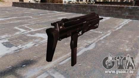 Pistolet mitrailleur SMG pour GTA 4 secondes d'écran