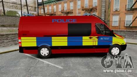 Mercedes-Benz Sprinter 313 CDI Police [ELS] für GTA 4 linke Ansicht