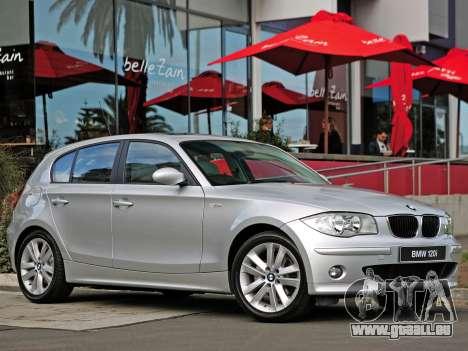 Les écrans de démarrage BMW 120i pour GTA 4 neuvième écran