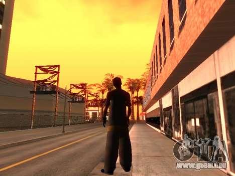 La Peau Traceur pour GTA San Andreas troisième écran