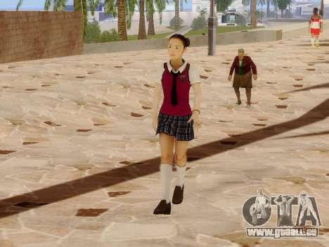 Hanako pour GTA San Andreas quatrième écran