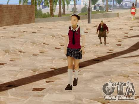 Hanako für GTA San Andreas her Screenshot