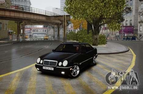Mercedes-Benz E280 Beta pour GTA 4