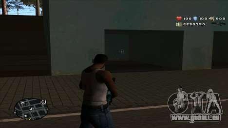 C-Hud by Stan Gomez pour GTA San Andreas deuxième écran