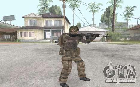 AK-101 pour GTA San Andreas deuxième écran