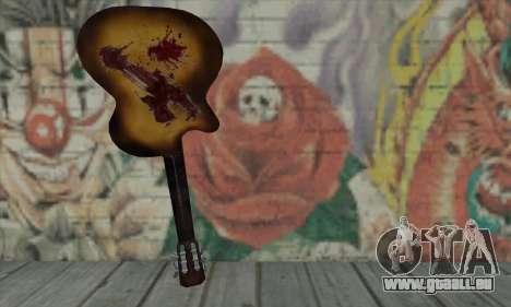 Gitarre für GTA San Andreas zweiten Screenshot
