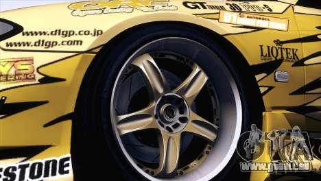 Nissan Silvia S15 TopSecret für GTA San Andreas rechten Ansicht