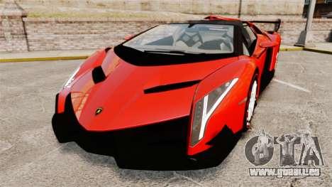 Lamborghini Veneno Roadster LP750-4 2014 pour GTA 4