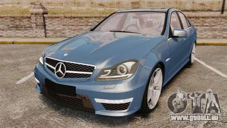 Mercedes-Benz C63 AMG 2013 pour GTA 4