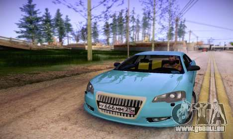 Volga Siber 2.5 AT Restyling pour GTA San Andreas vue arrière
