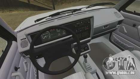 Volkswagen Rabbit GTI 1984 pour GTA 4 Vue arrière