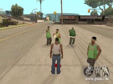 Gehen Sie zu der Bande von Ballas für GTA San Andreas dritten Screenshot
