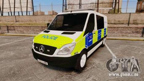 Mercedes-Benz Sprinter 211 CDI Police [ELS] pour GTA 4