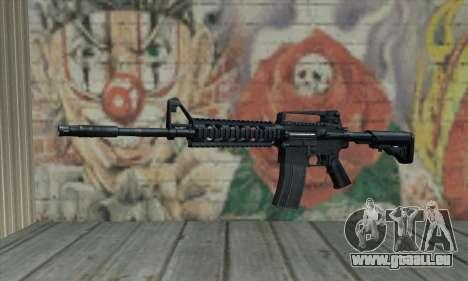 M4 RIS Carbine pour GTA San Andreas