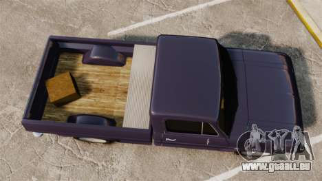 Chevrolet C10 1974 pour GTA 4 Vue arrière de la gauche