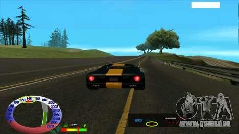 Die Höchstgeschwindigkeit für SAMP für GTA San Andreas dritten Screenshot