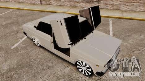 AIDE-Lada 2107 pour GTA 4 est une vue de dessous